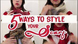 5 Easy Ways to Style your Winter Scarf