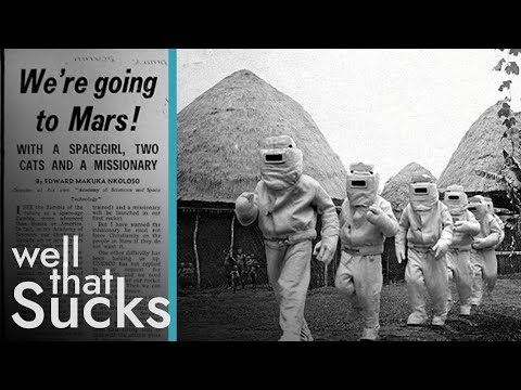 The Time When Zambia Tried To Go To Mars