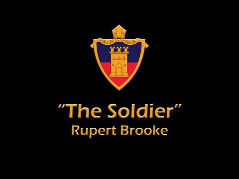 """The Soldier"" by Rupert Brooke"