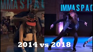 """WILLDABEAST CHOREO """"2AM"""" THEN & NOW ft. Kaycee Rice and Sean Lew + MORE! (2014