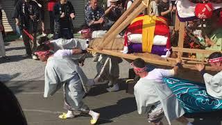 長崎くんち 八坂町 川船 2017年 八坂神社