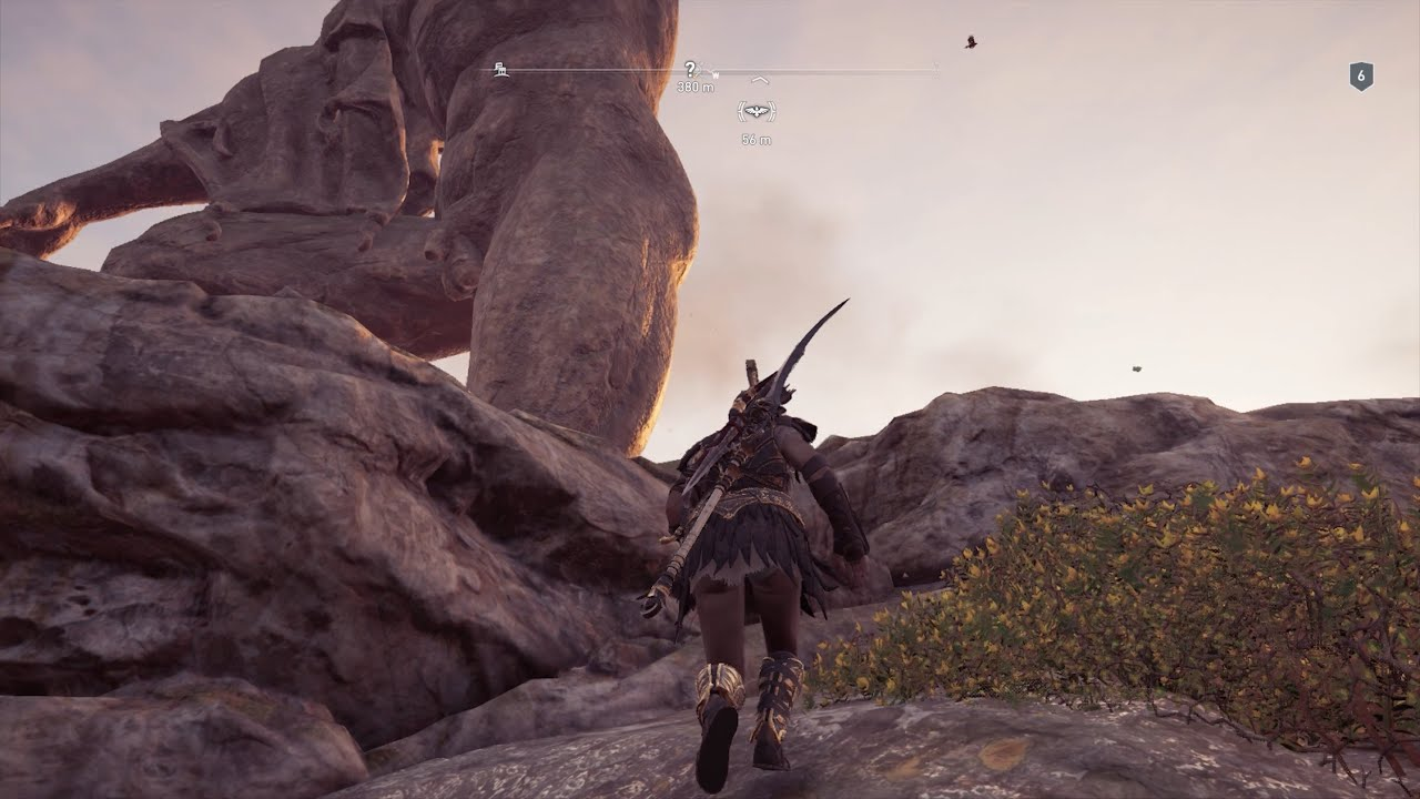 Assassins Creed Odyssey Climb Statue of Zeus Get to First