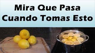 Mira Lo Que Pasa Al Hervir Limones y Beber El Agua Al Despertar PARA QUE SIRVE EL LIMON EN AYUNAS