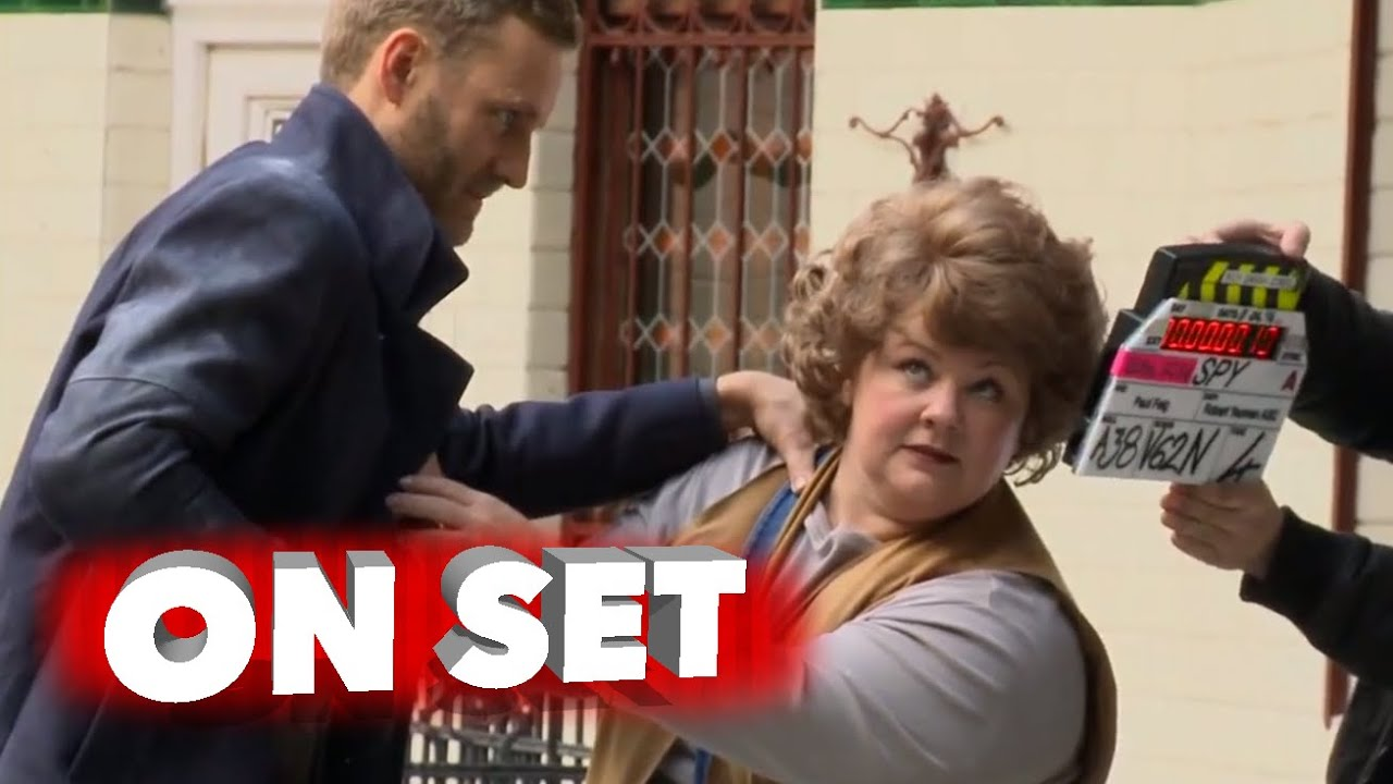 Spy: Complete Behind the Scenes Movie Broll - Melissa McCarthy, Jason Statham