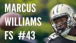 Free Safety Marcus Williams at Saints Minicamp: raw footage