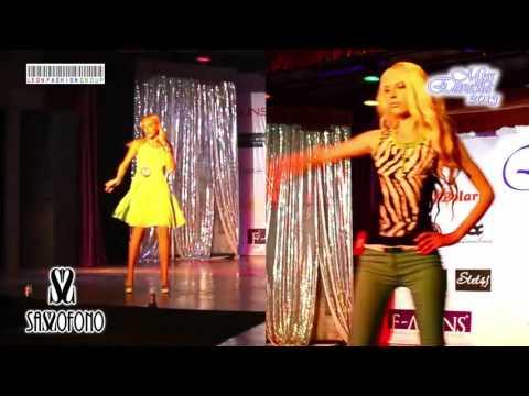 MISS EURASIA-2013 The final show. Collection Sassofono Show