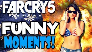 FUNNIEST HIGHLIGHTS with FAILS! | Funny Far Cry 5 Co-Op Moments Part 2