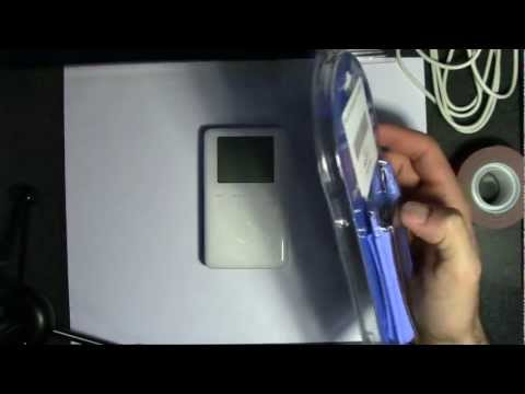 How to Replace 3rd Gen iPod Battery and Convert to Flash Memory