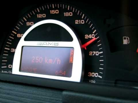 Topspeed mercedes c30 cdi amg 132 255km h youtube for Mercedes benz c30