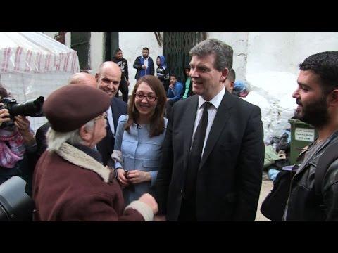 Arnaud Montebourg en visite en Algérie