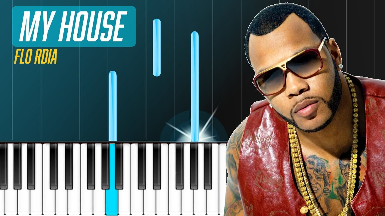 "Flo Rida - ""My House"" Piano Tutorial - Chords - How To ... Rihanna Wild Thoughts"
