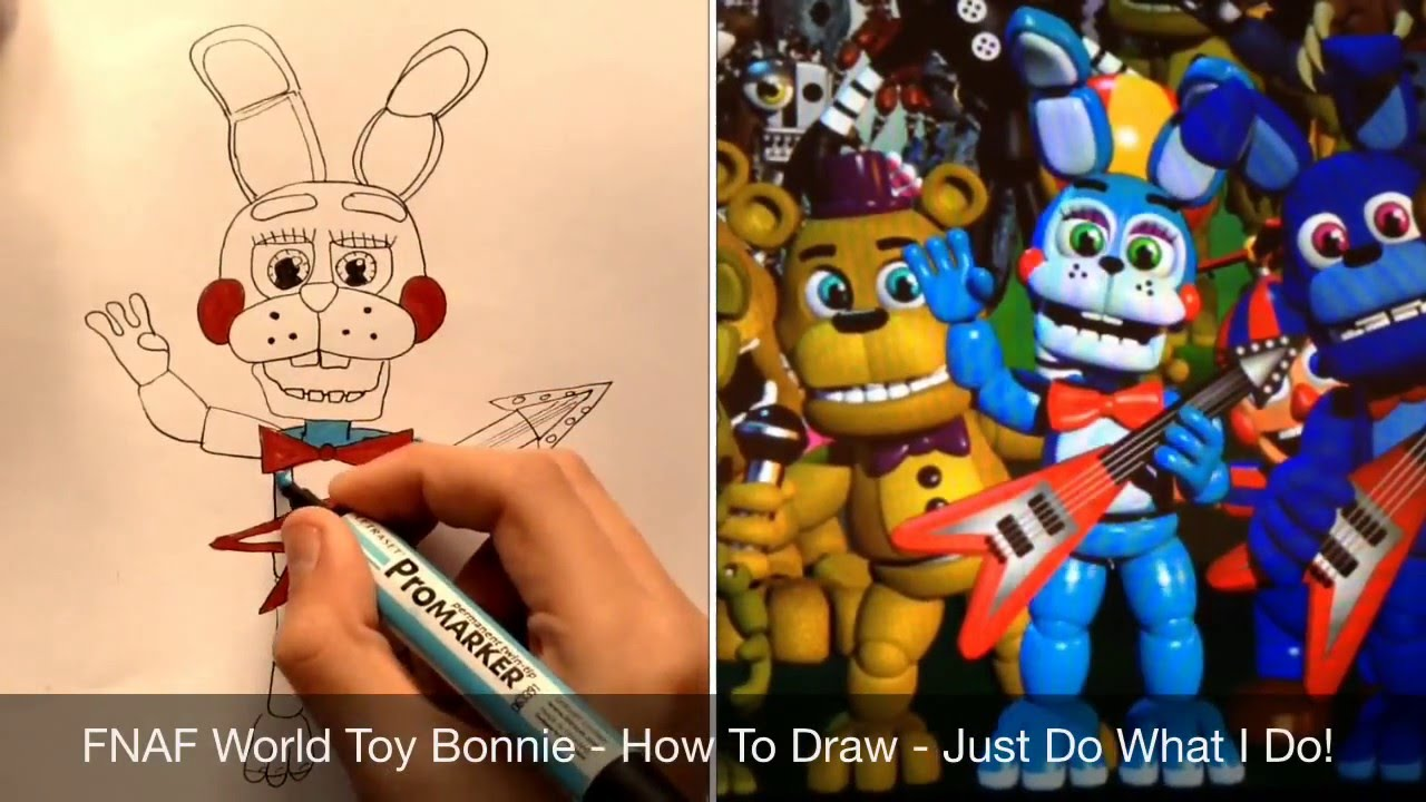 Bonnie Five Nights Freddy Coloring Pages