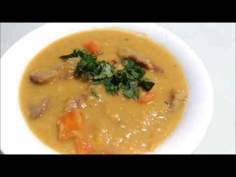 CLEARLY CANADIAN ~ YELLOW SPLIT PEA SOUP WITH HAM (Canadian Recipe)