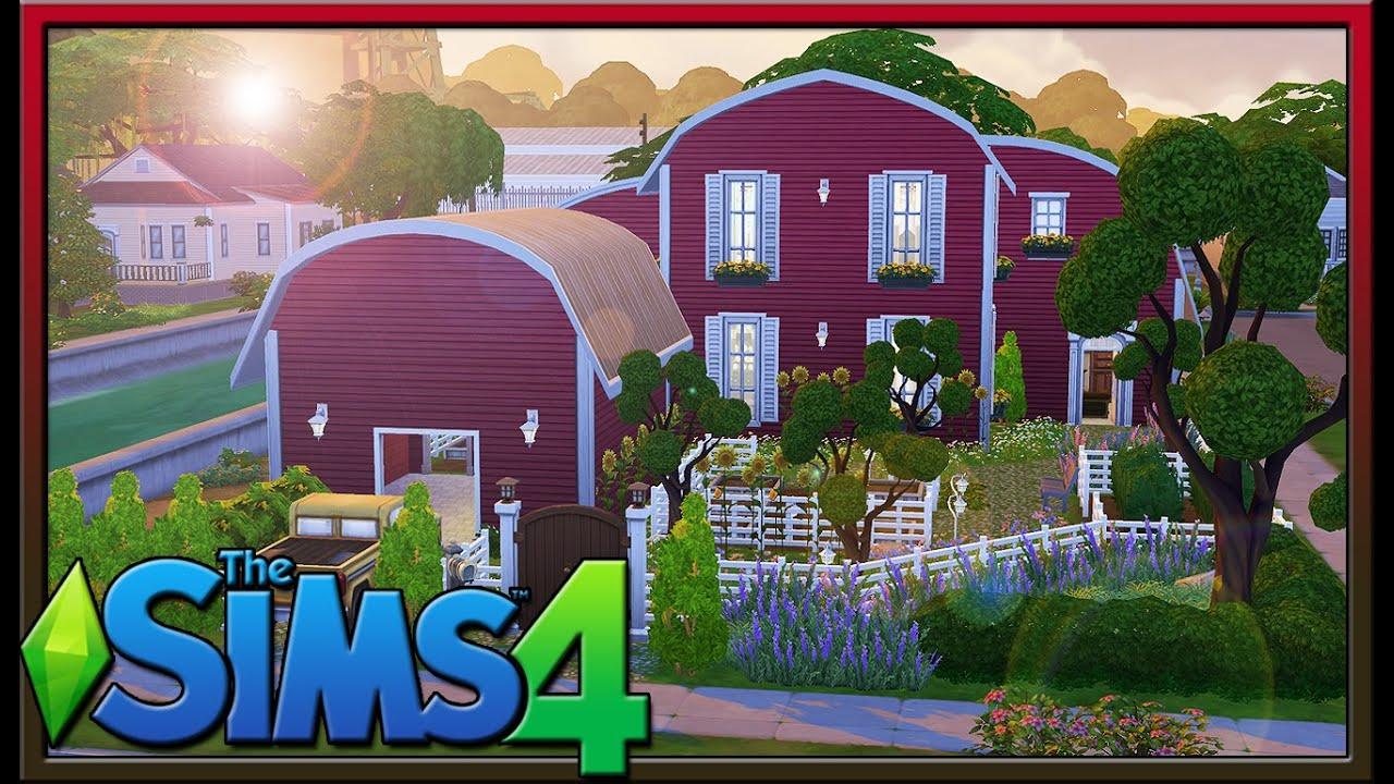 Sims 4 Lot Showcase: Sunflower Farm by M9013 - YouTube