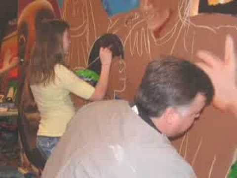 Forest County Potawatomi Youth Gathering Mural 2008
