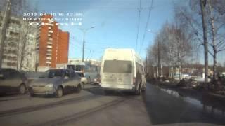 Авария Йошкар-Ола Ленинский проспект 18