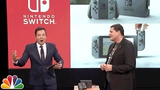 Jimmy Fallon Debuts the Nintendo Switch thumbnail