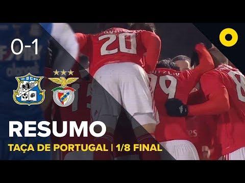 Montalegre 0-1 Benfica - Resumo | SPORT TV