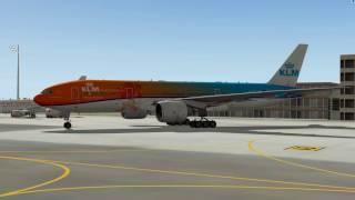 XP10 Boeing 777-200LR (FlightFactor) - керівництво по виконанню польоту 1 ч.