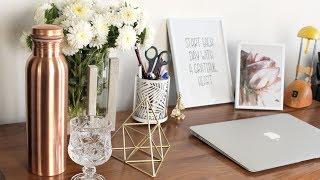 Home Decor: Desk Fall Makeover & Decor