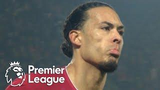 Virgil van Dijk heads Liverpool into the lead v. Man United | Premier League | NBC Sports