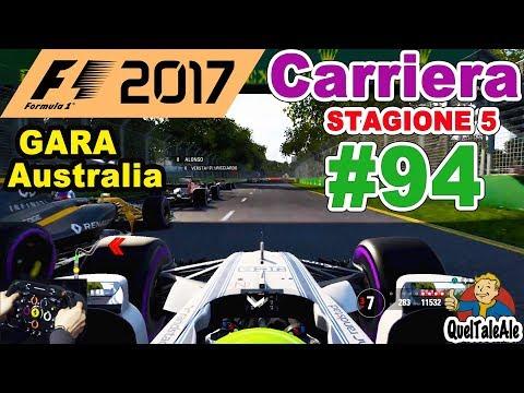 F1 2017 - PS4 Gameplay ITA - T300 - Carriera #94 - GARA Australia - NUOVE SFIDE