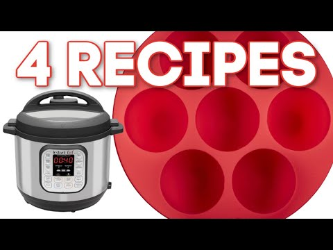 4 Instant Pot Recipes for Silicone Egg Bites Mold | Step-by-Step Instant Pot Recipe