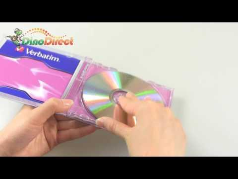 Verbatim 16X 4.7GB 120Min DVD+R Blank Media Disc 1 Pack - dinodirect