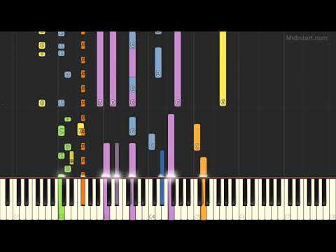 Radiohead - Creep (Instrumental Tutorial) [Synthesia]