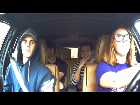 Justin Bieber Surprises Fans In A Lyft
