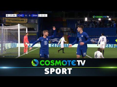 Τσέλσι - Ρεάλ Μαδρίτης (2-0) Highlights - UEFA Champions League 2020/21 - 5/5/21 | COSMOTE SPORT HD