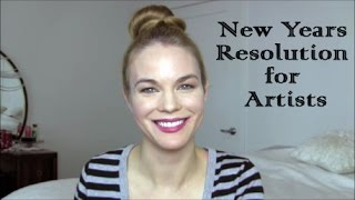 Artist Aid: New Years Resolutions for Artists