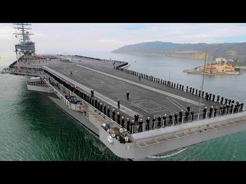 Top 10 Biggest Warships In The World 2016 || Pastimers