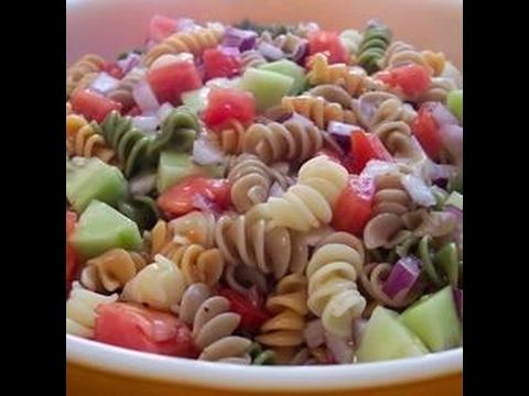 Easy Rainbow Pasta Salad II Recipe
