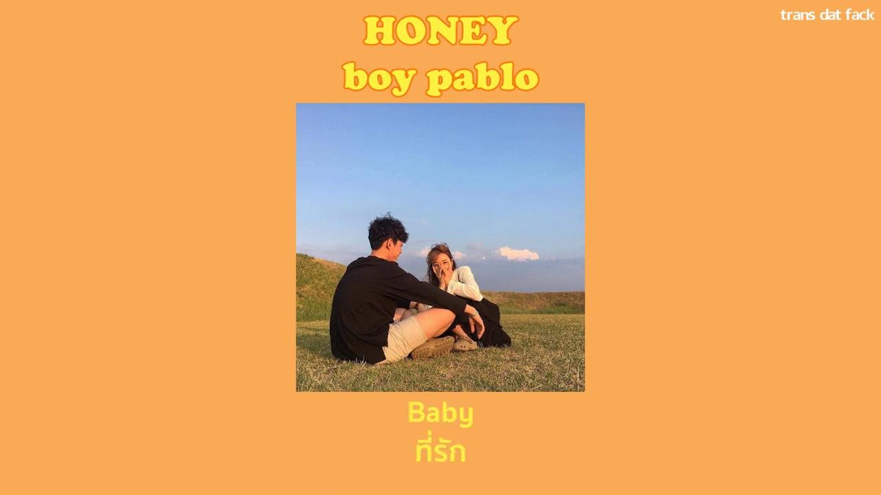 [THAISUB] honey – boy pablo