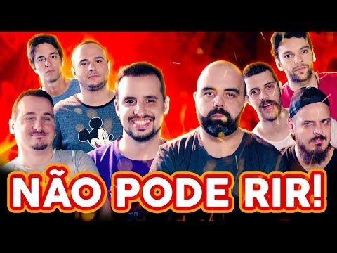 NÃO PODE RIR! com Edu Primitivo, Henrique Minimim, Raphael Ghanem e Diogo Defante
