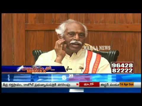 Union Minister Bandaru Dattatreya Exclusive Interview|Face to Face|Mahaa News