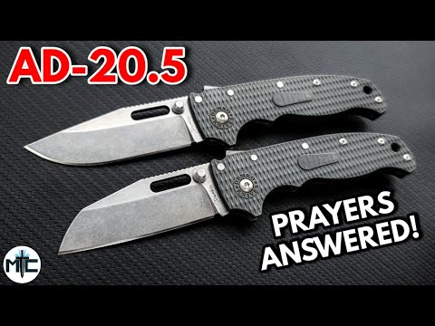 Demko AD 20.5 Folding Knife – Overview and Review