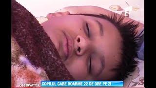 Copilul care doarme 22 de ore pe zi