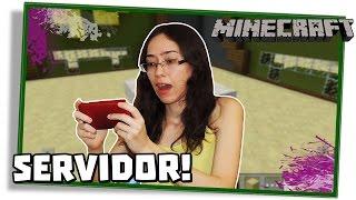 Minecraft PE Servidor: A DOIDA JOGANDO BUILD BATTLE NO CELULAR! - [Pocket Edition - Mini-Game #59]