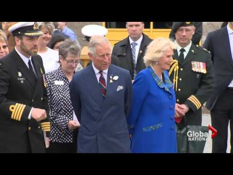 Prince Charles and Camilla focus on historical connections