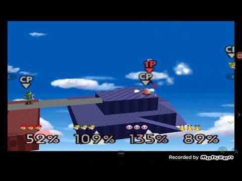 Los 5 Escenarios De Super SMASH BROS 64