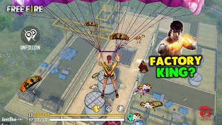 Ajjubhai is Next Factory King? Only Factory Roof Challenge With Amitbhai - Garena Free Fire