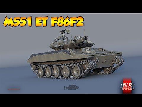 War Thunder - M551 et F86F2 : duo lance missile !