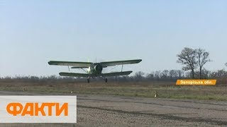 Вакцинация против бешенства: диких животных в Запорожье прививают с помощью самолетов