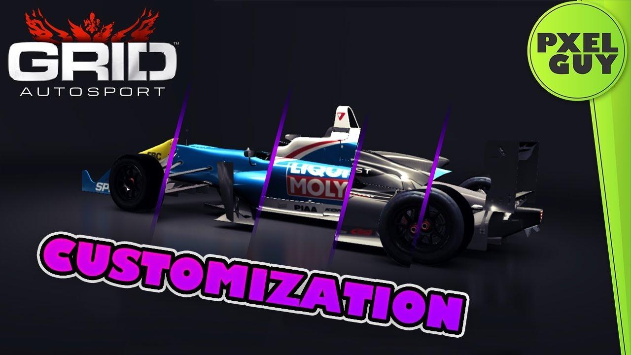 GRID Autosport CUSTOMIZATION IOS