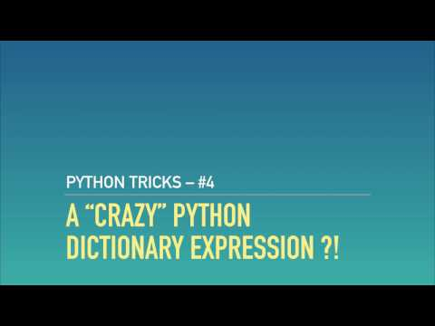 A Python Riddle: The Craziest Dict Expression in the West
