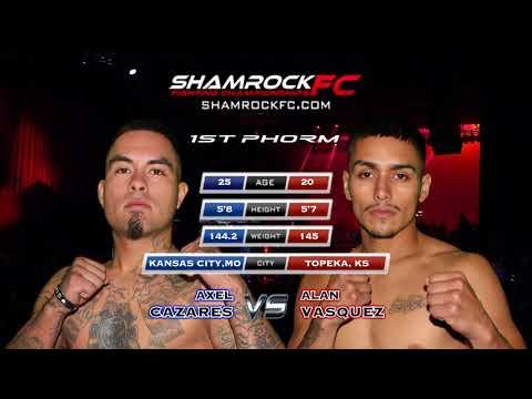 Shamrock 298 Alan Vasquez vs Axel Cazares