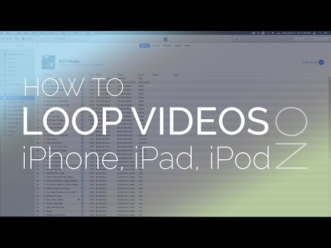 How to get iPad to loop or repeat video?