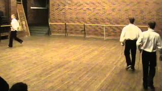 Fencing lesson in Russian University of The Theatre Arts